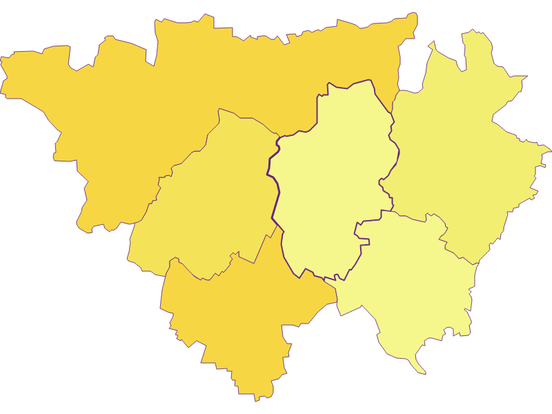Плотность населения в Großmugl