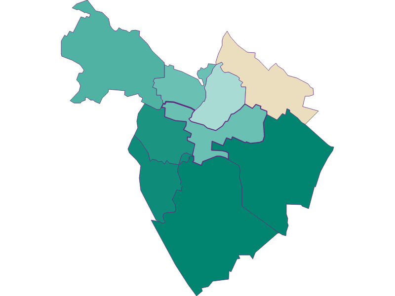 Population development since 1869 in Hagenbrunn