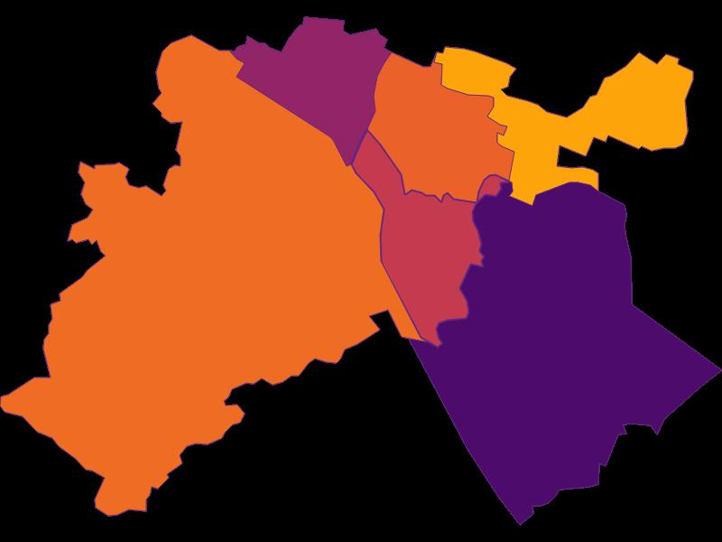 Плотность населения в Langenzersdorf