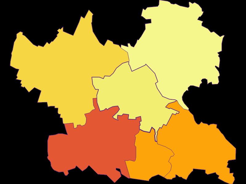 Плотность населения в Leitzersdorf