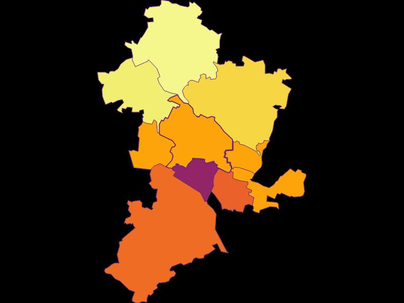 Population density in Leobendorf
