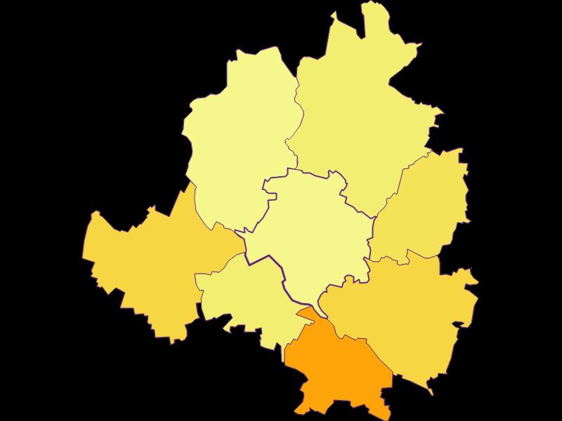 Population density in Niederhollabrunn