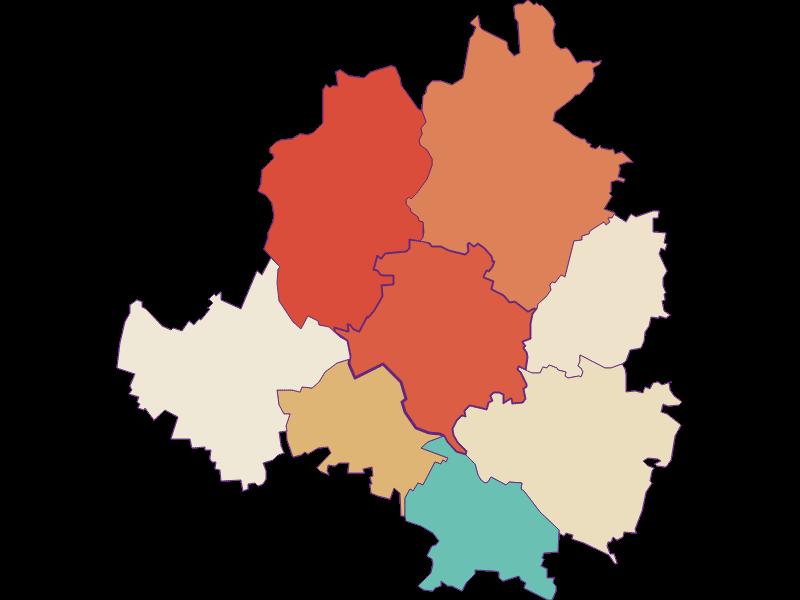 Population development since 1900 in Niederhollabrunn