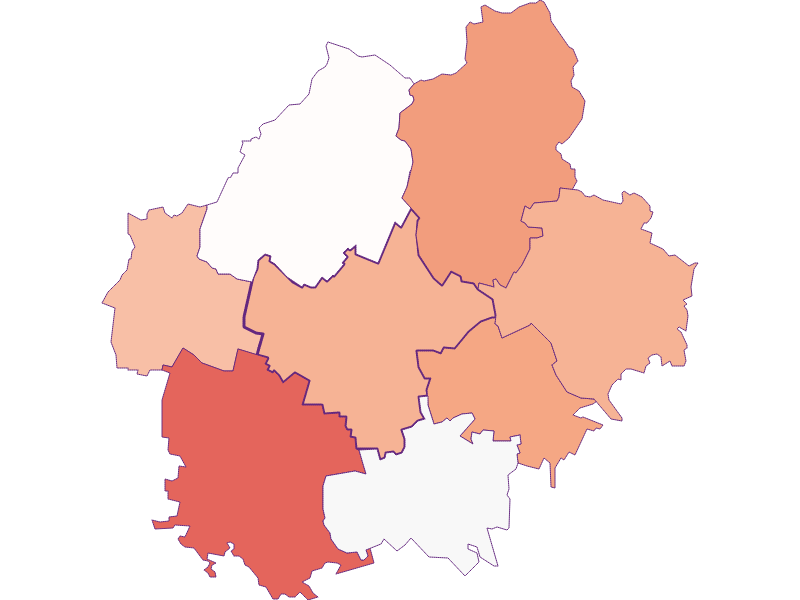 Activity rate in Sierndorf
