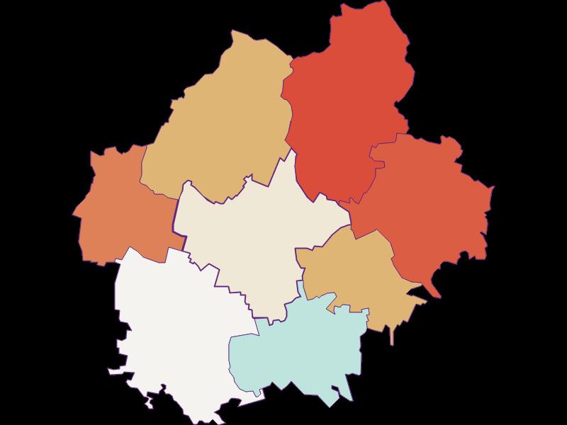 Population development since 1900 in Sierndorf