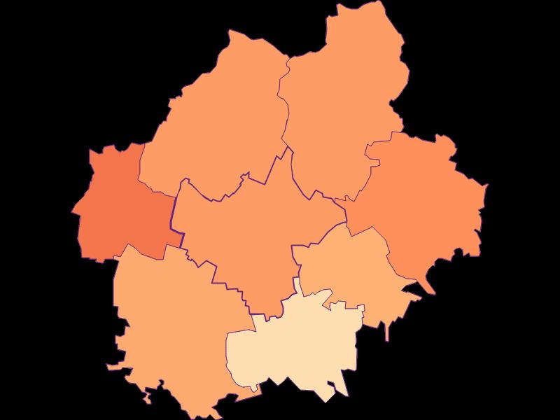 Household size in Sierndorf