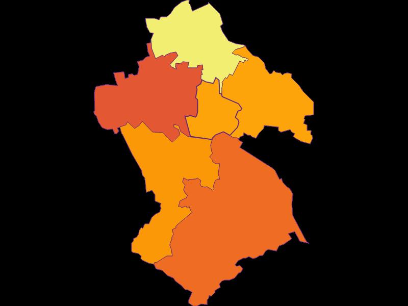 Плотность населения в Spillern