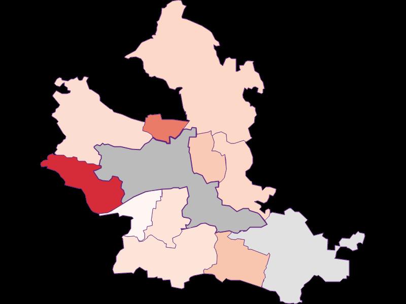 Activity rate in Krems an der Donau