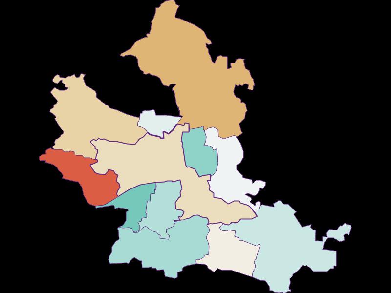 Population development since 1900 in Krems an der Donau