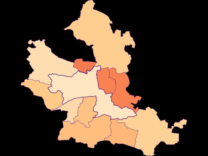 Household size in Krems an der Donau