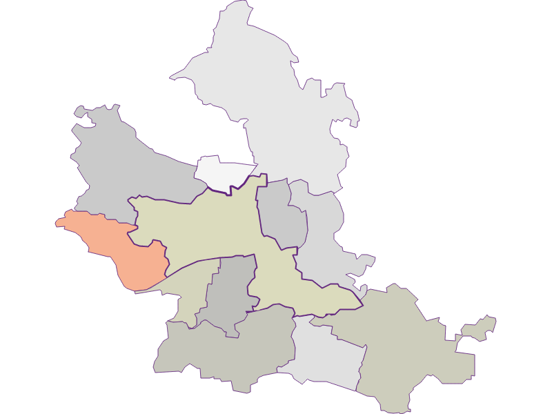 Farmers (comparison to federal state) in Krems an der Donau