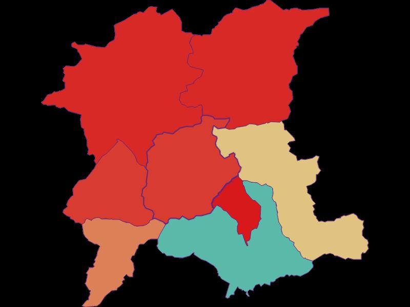 Прирост населения за 1900-2018: Eisenerz - Австрия - География, экономика, статистика | Similio