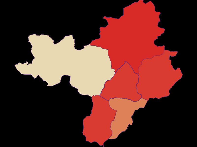 Population development since 1900 in Radmer
