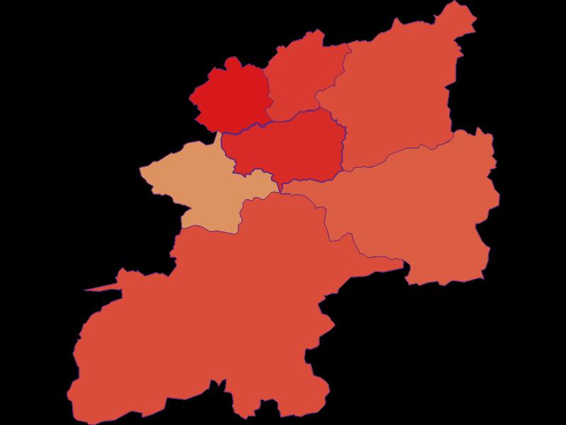 Демография с 1900 года в Annaberg
