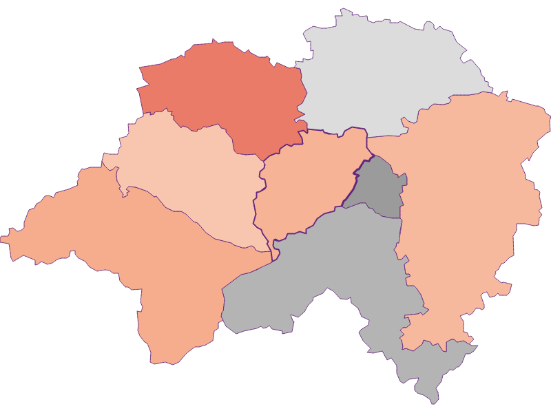Activity rate in Eschenau