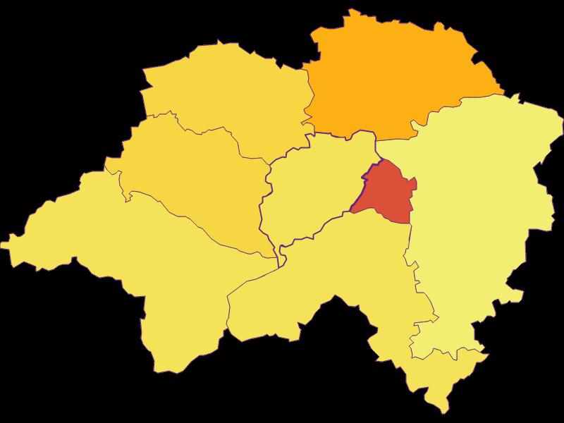 Population density in Eschenau