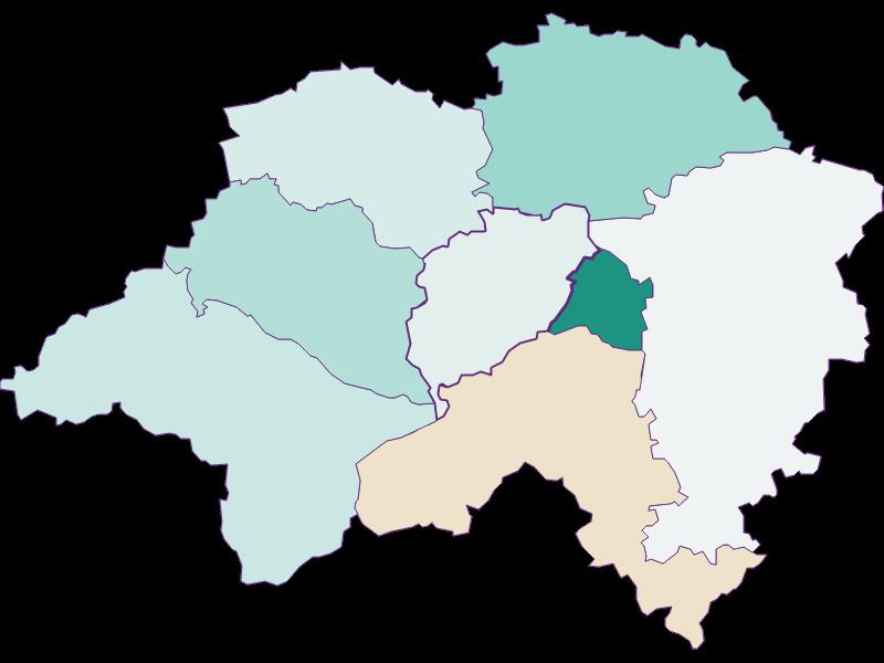 Population development since 1869 in Eschenau