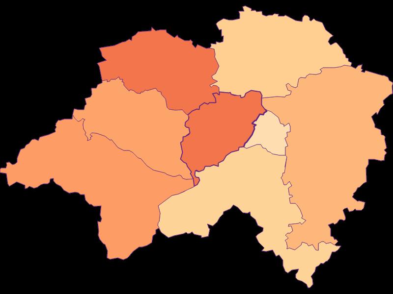 Household size in Eschenau