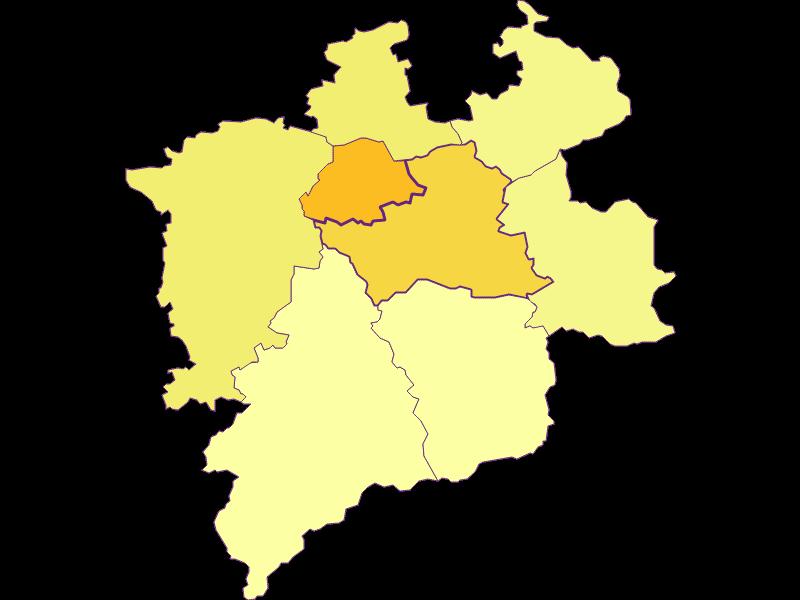 Плотность населения в Hainfeld