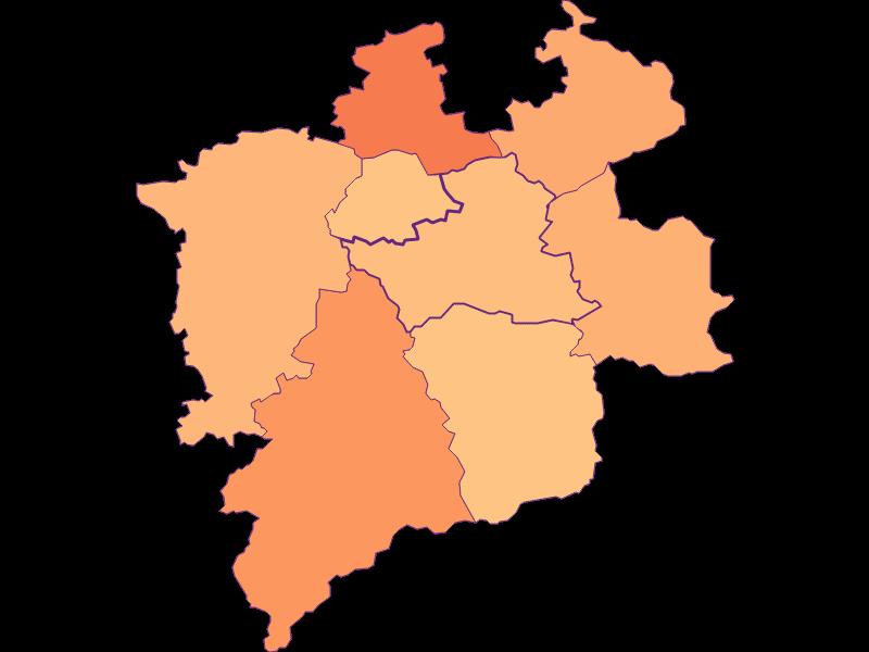 Размер домохозяйства в Hainfeld
