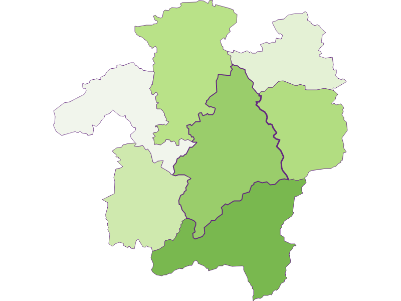 Заселенность в Kleinzell