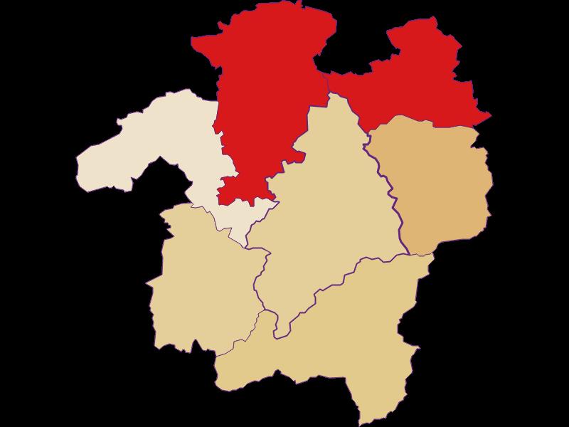 Population development since 2011 in Kleinzell