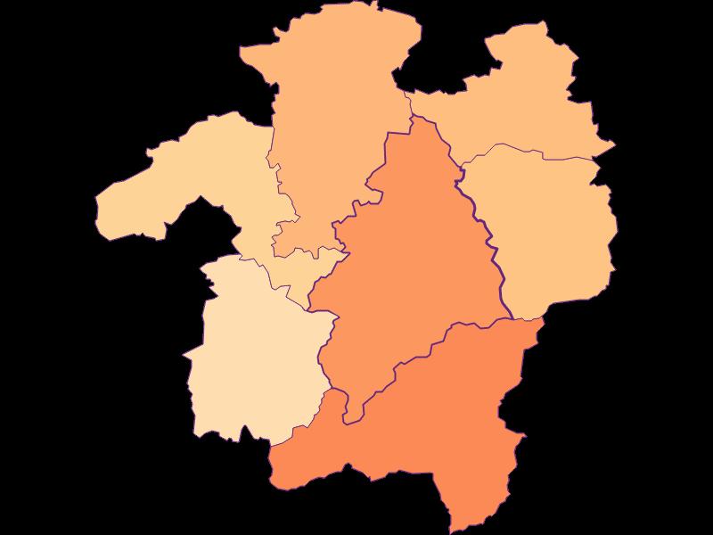 Размер домохозяйства в Kleinzell