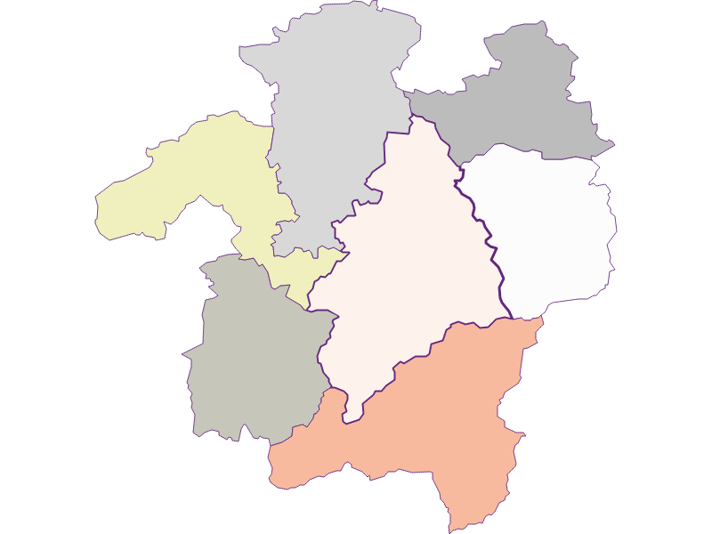 Farmers (comparison to federal state) in Kleinzell