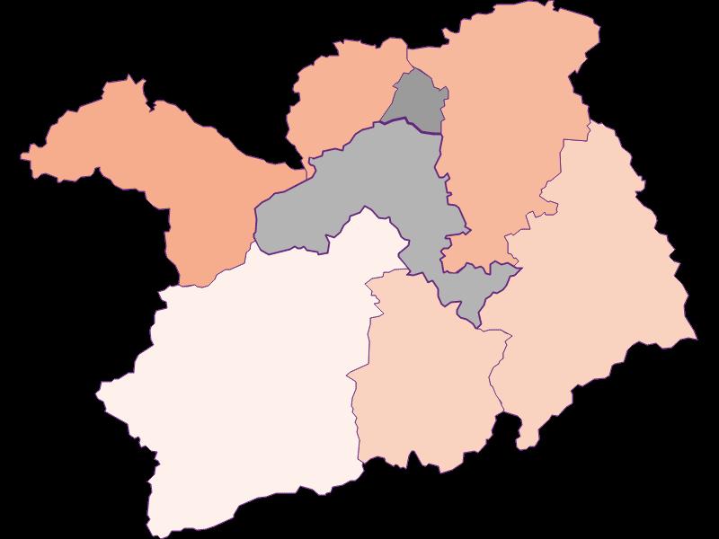 Bevölkerungsaktivität in Lilienfeld