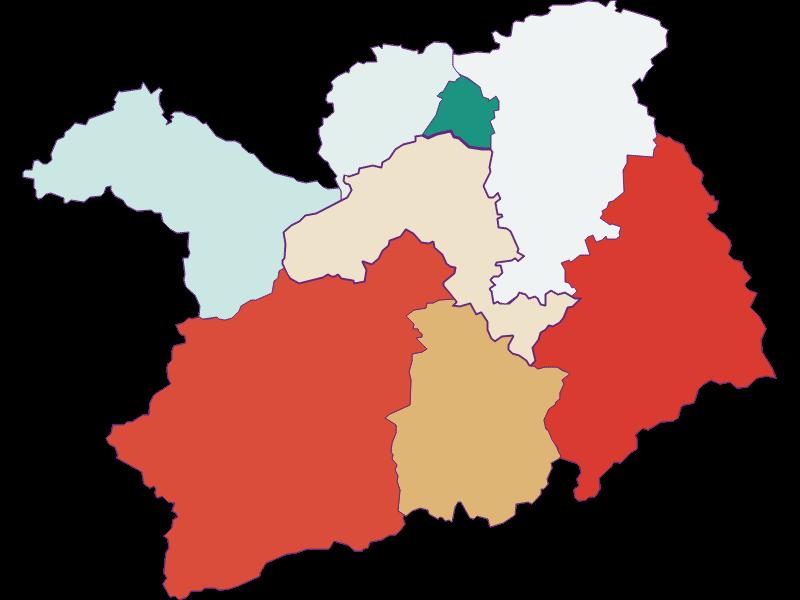 Bevölkerungsentwicklung seit 1869 in Lilienfeld
