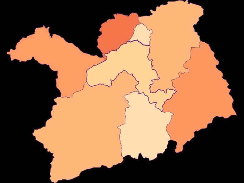 Haushaltsgröße in Lilienfeld