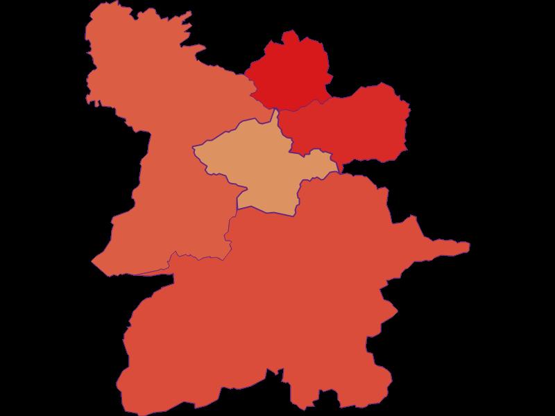Демография с 1900 года в Mitterbach am Erlaufsee