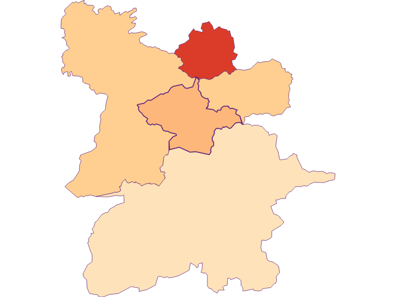 Размер домохозяйства в Mitterbach am Erlaufsee