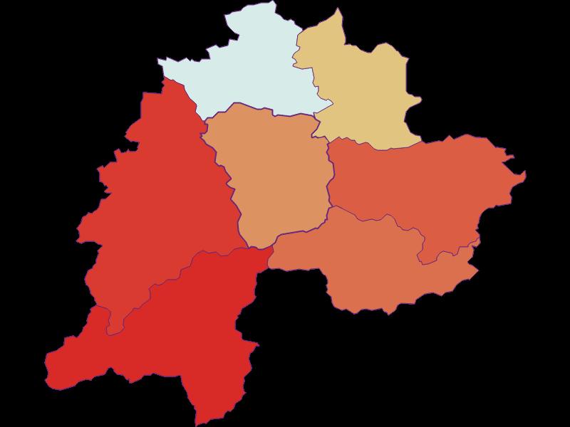 Демография с 1869 года в Ramsau