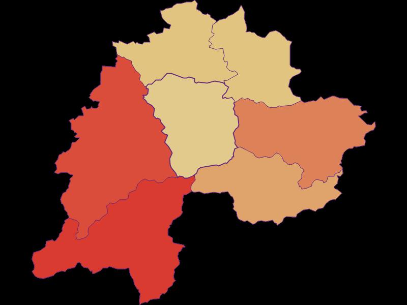 Демография с 1900 года в Ramsau