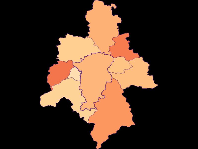 Размер домохозяйства в St. Veit an der Gölsen
