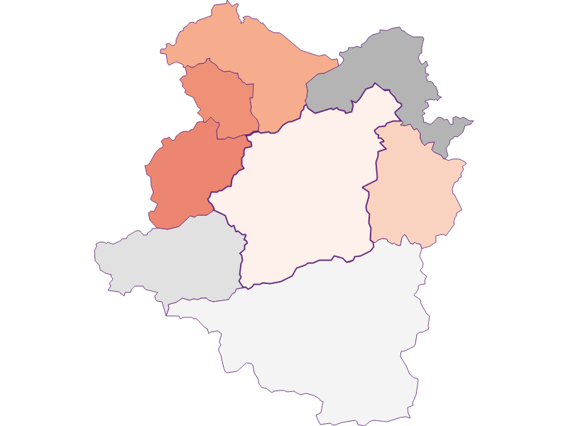 Activity rate in Türnitz