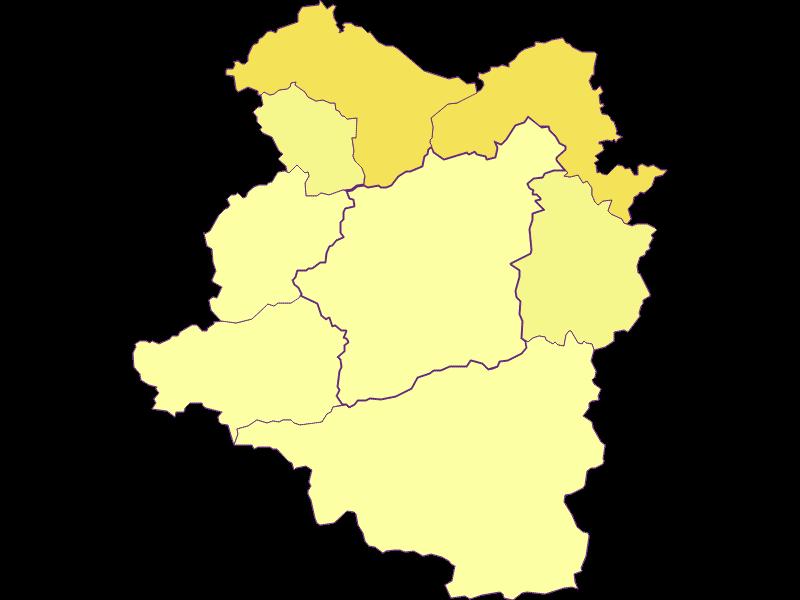 Population density in Türnitz