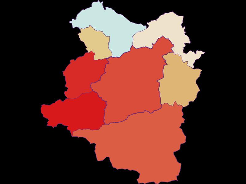 Population development since 1869 in Türnitz