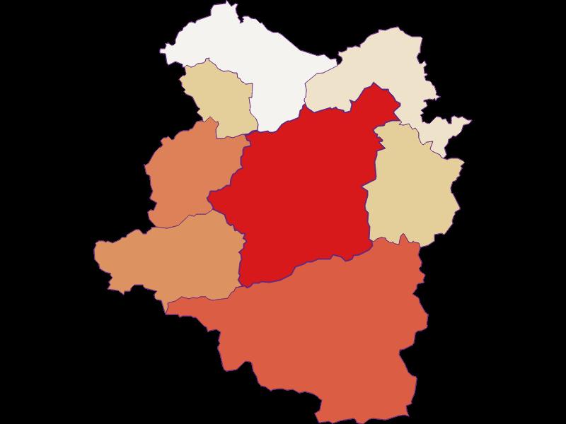 Population development since 2011 in Türnitz