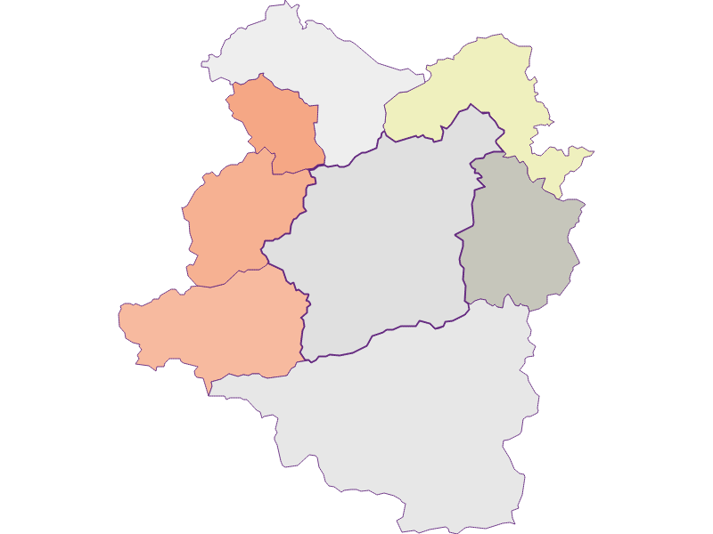 Farmers (comparison to federal state) in Türnitz