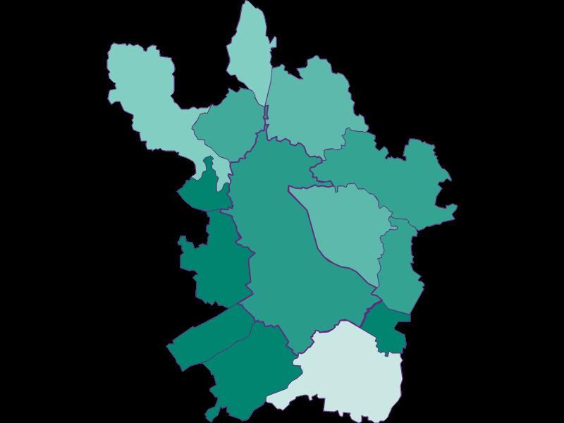 Демография с 1869 года в Linz