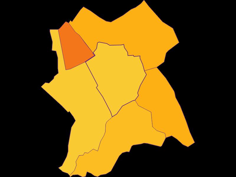 Плотность населения в Antau