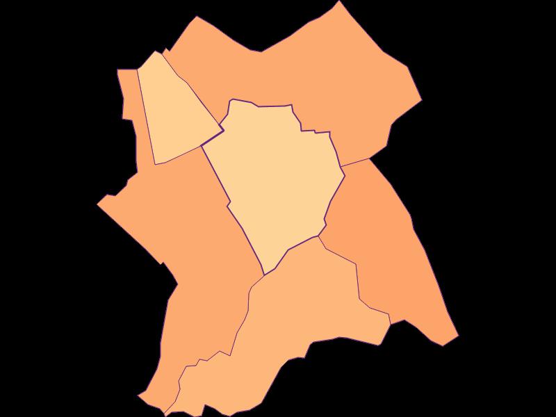 Размер домохозяйства в Antau