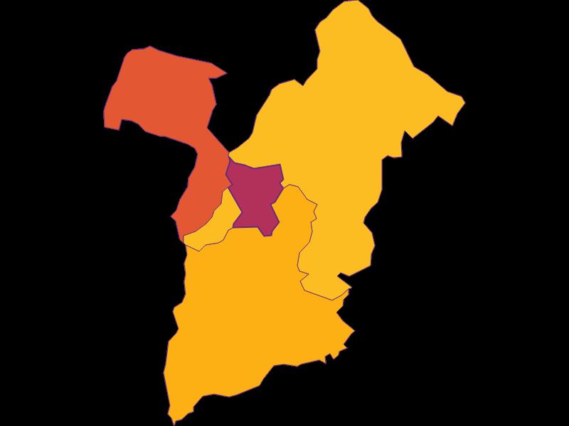 Плотность населения в Bad Sauerbrunn