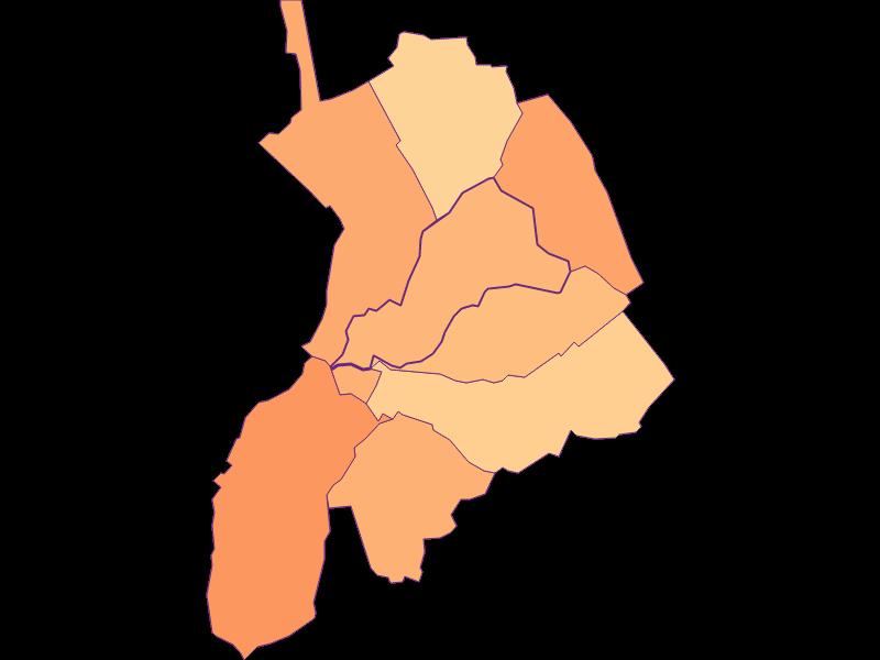 Размер домохозяйства в Draßburg