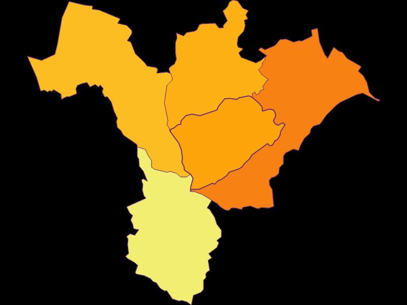 Плотность населения в Forchtenstein