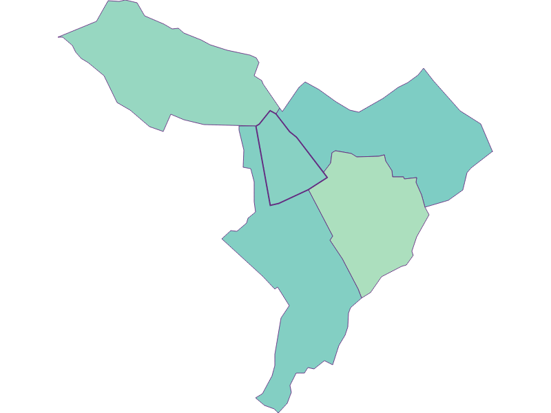 Share of foreigners in Hirm