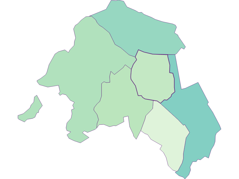 Share of foreigners in Krensdorf