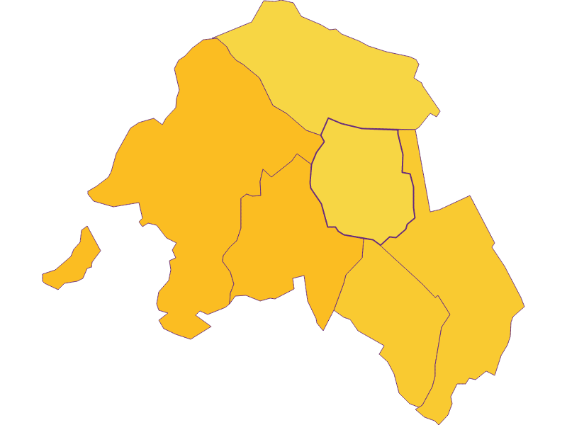 Population density in Krensdorf